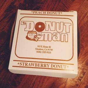 A classic Donut Man box.