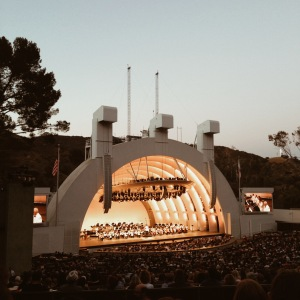 "One of the most magical moments of my life was hearing George Gershwin's ""Rhapsody in Blue"" performed live at the Hollywood Bowl. What a night."