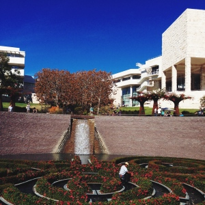 A beautiful, beautiful day at the Getty.