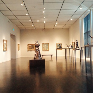 I went to LACMA by myself on Monday to renew my membership / see the Kanye West music video, which was not disappointing. Afterwards, I had the whole Impressionists gallery to myself. A++.