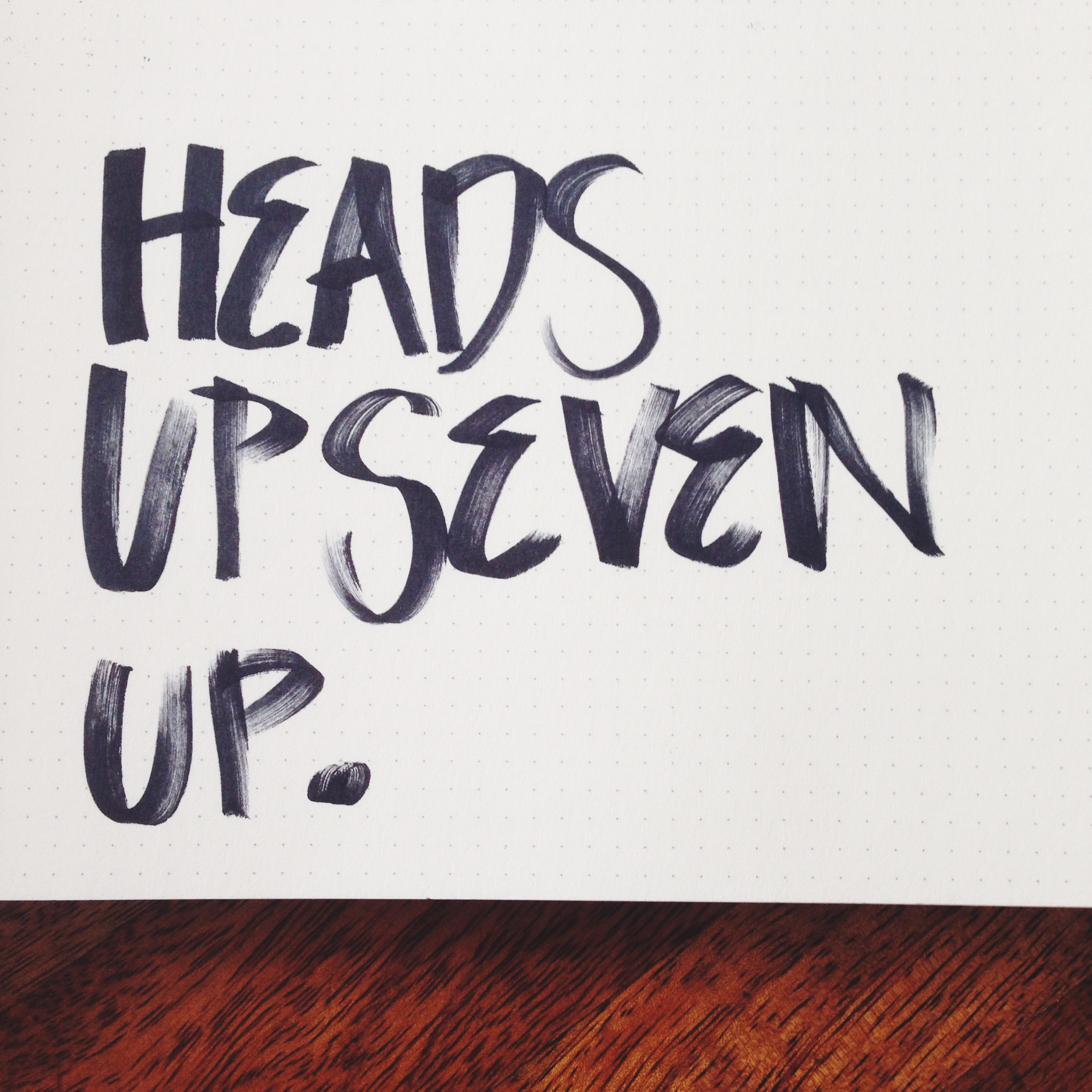 how to play heads up 7-up game
