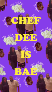 Chef Dee /is/ bae. Via Fusion's Snapchat channel.