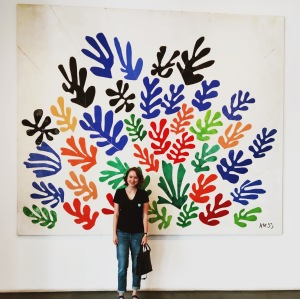 "Can't go to LACMA without visiting Matisse's ""La Gerbe."""