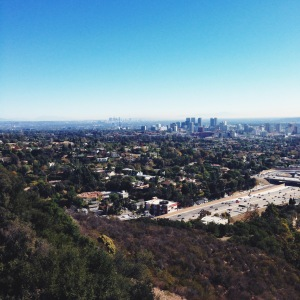 LA, as seen from the Getty Center.