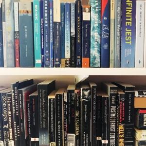 I got new bookshelves and I am living.